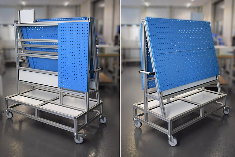 Tool trolley for assembly department